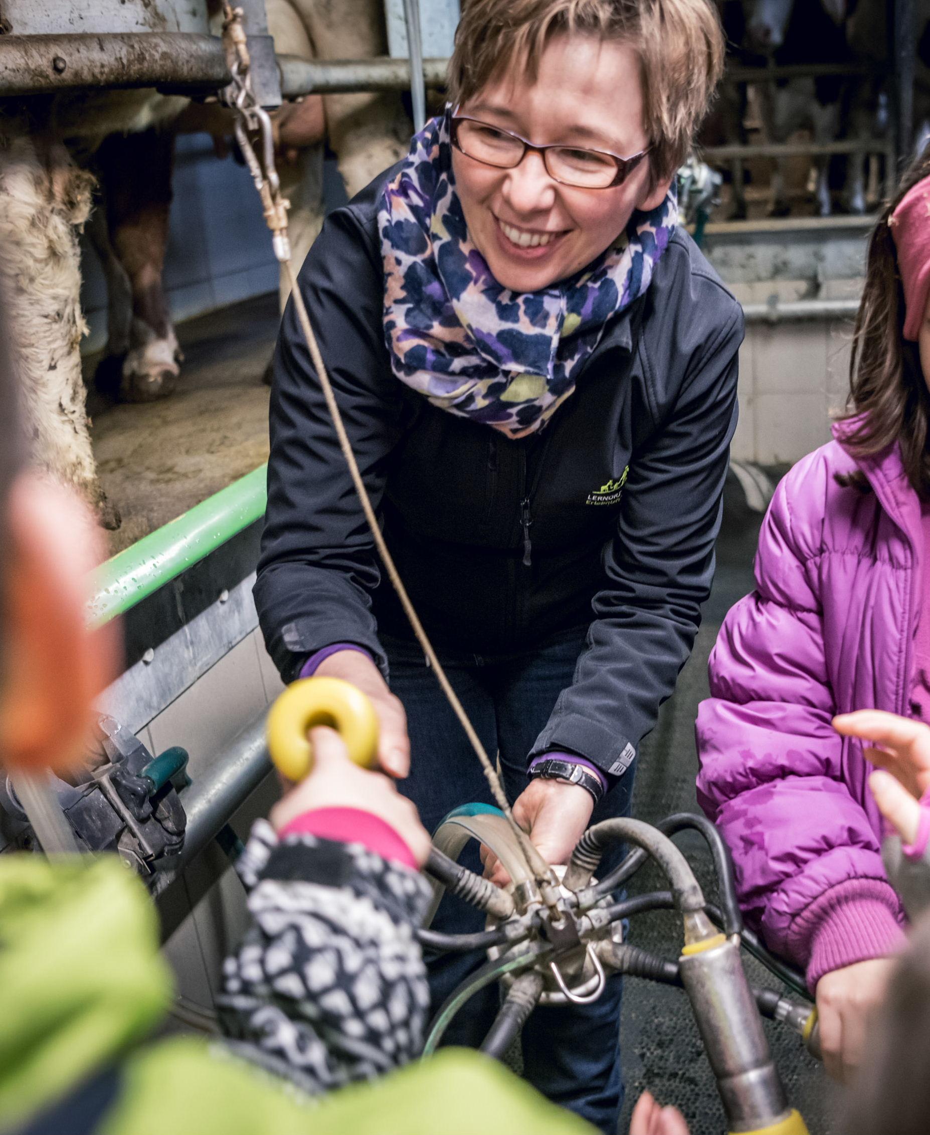 auf dem Blog: Bäuerin Lucia im Portrait