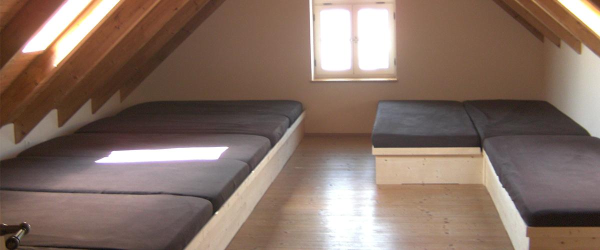 Matratzenlager  matratzenlager - BauernhofTouren